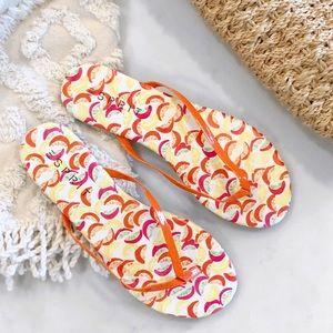 [Esprit] Tropical Fruit Party Flip Flops